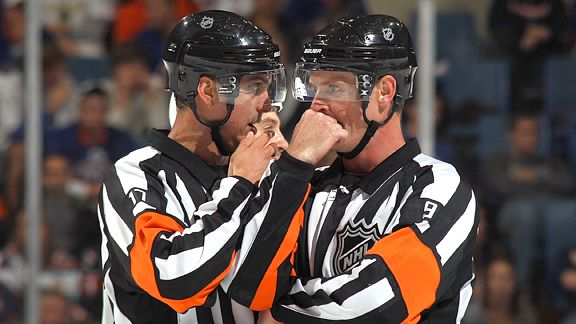 Tonight's NHL Referees – 2/28/14