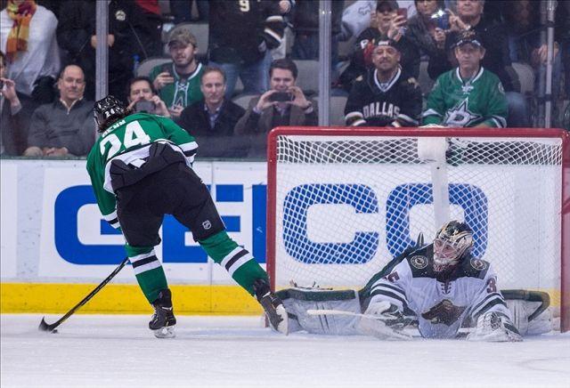 Wild Goalie Kuemper Throws Stick, Gets Beaten on Penalty Shot