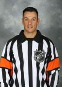 NHL Referee Ghislain Hebert (#22)