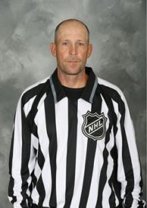 NHL Linesman Don Henderson (#91)