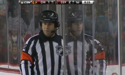 Tonight's NHL Referees and Linesmen – 10/8/17