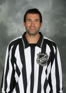 NHL Linesman Steve Miller (#89)