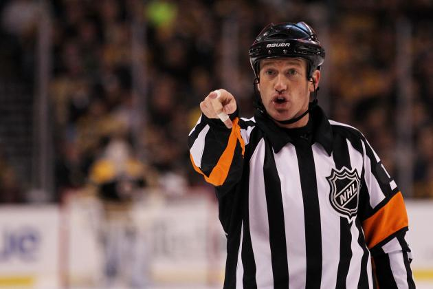 Today's NHL Referees – 4/12/14