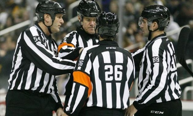 Tonight's NHL Referees & Linesmen – 10/26/16