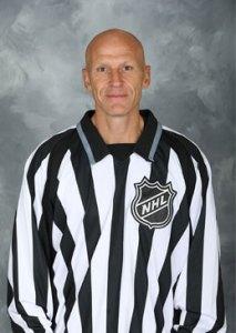NHL Linesman Vaughan Rody