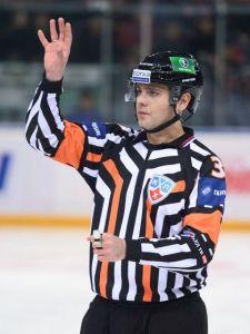 KHL Referee Konstantin Olenin