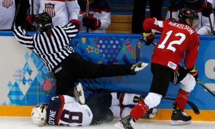 Today's Olympic Hockey Referees – 2/15/14