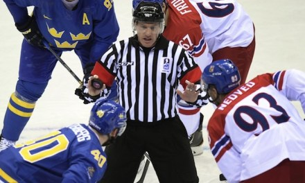 Olympic Referees – Men's Semifinal – 2/21/14