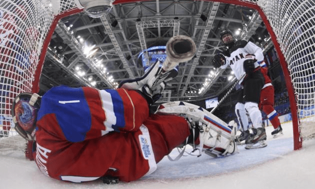 Puck Crosses Line but No Goal for Japan's Women's Hockey Team