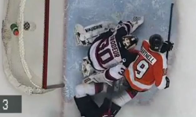 Disallowed Goal Devastating for Flyers