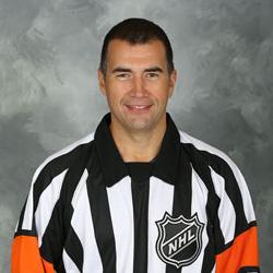 NHL Referee Marc Joannette