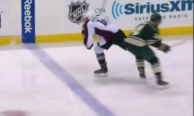 Matt Cooke Goes Off for Kneeing; Suspension Coming