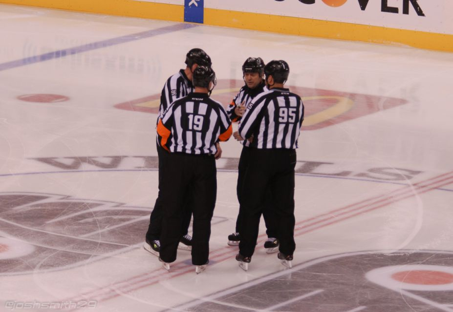 Tonight's NHL Referees & Linesmen – 3/10/15