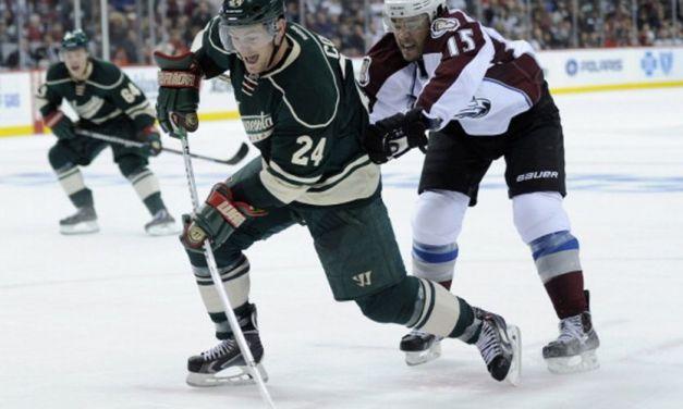 Wild's Matt Cooke Suspended 7 Games for Kneeing Avs' Barrie