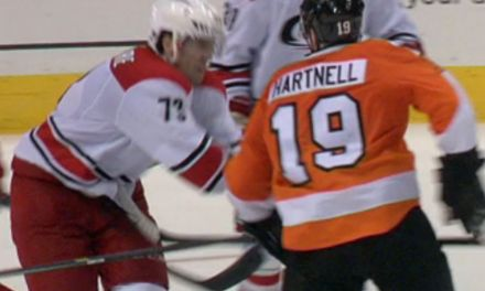 Flyers' Hartnell Fined for Spearing Hurricanes' Bellemore
