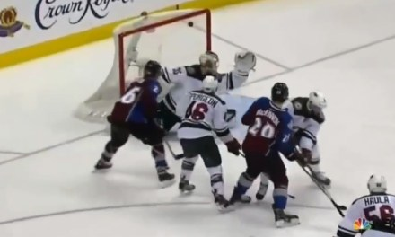 Avalanche Tie Game, Win in OT after Missed Call
