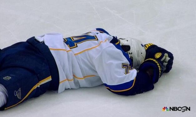 Wild's Rupp Suspended Four Games For Hit on Blues' T.J. Oshie