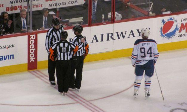 Tonight's NHL Referees – 4/1/14