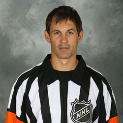 NHL Referee Wes McCauley (#4)