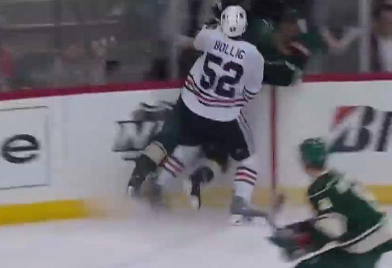 Blackhawks' Brandon Bollig Suspended 2 Games