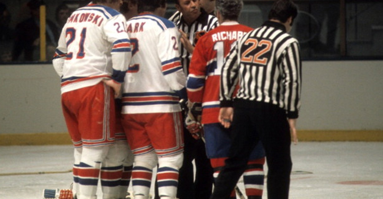 Tonight's NHL Playoff Referees – Canadiens/Rangers Game 4