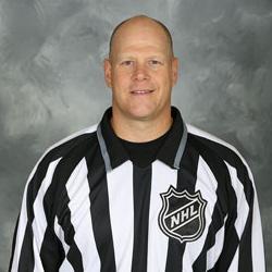 NHL Linesman Scott Driscoll (#68)