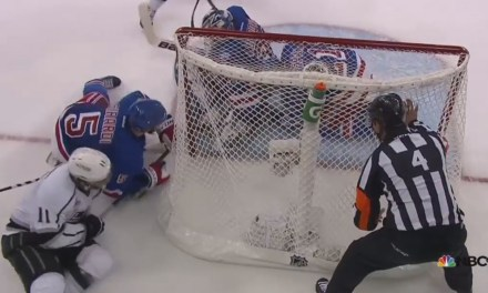 Was Stepan's Goal-Saving Play a Penalty?