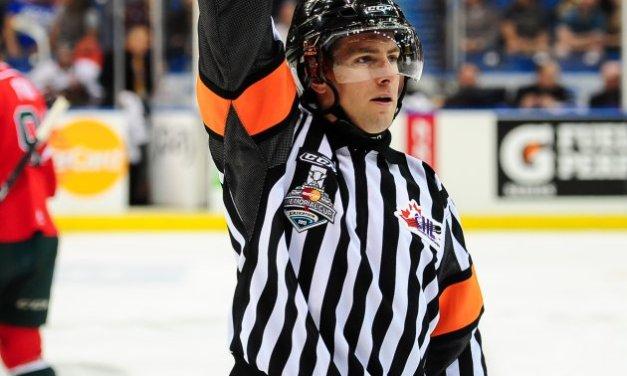AHL Ref Kendrick Nicholson Signs with NHL