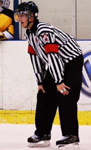 OHL Referee Garrett Rank