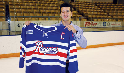 Former Kitchener Captain Ben Fanelli Dons the Stripes