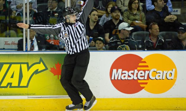 OHL Linesman Cory Piche Waits for the Call