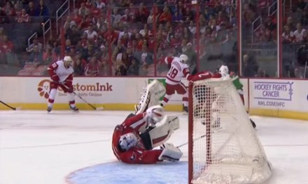 Wings Lose Goal to Phantom Interference Call