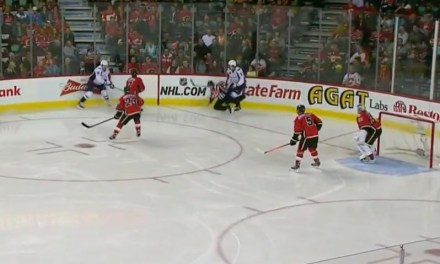 Caps' Ovechkin Runs Over Referee Kelly Sutherland