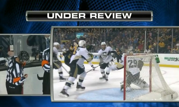 Two Goals Scored, Two Disallowed for Bruins in Loss to Pens