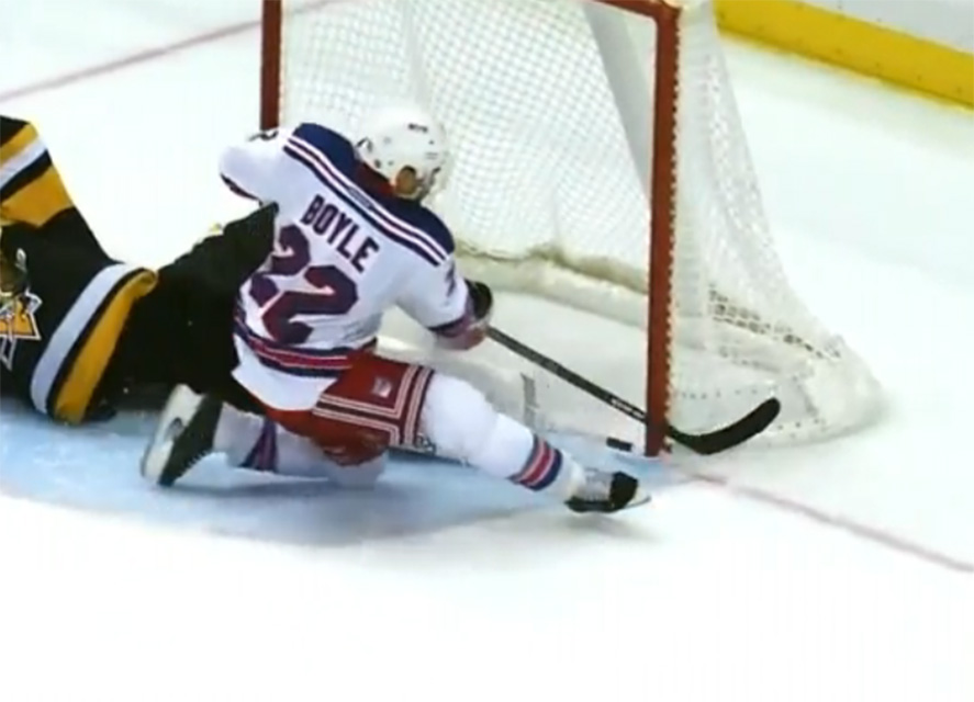 Rangers Win, Then Lose Shootout After Review