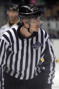 Linesman Chris Woodworth
