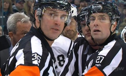 Tonight's NHL Referees & Linesmen – 12/3/15