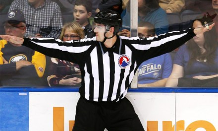 AHL Linesman Chris Woodworth Skates His Final Game