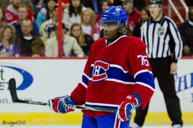 Montreal Canadiens defenseman PK Subban