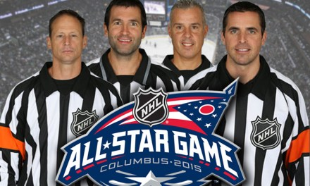 NHL All-Star Game Referees & Linesmen