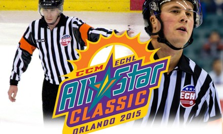 ECHL Officials Selected for 2015 All-Star Game