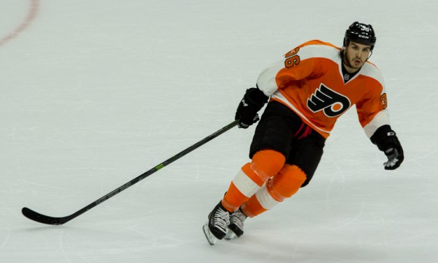 No Place for Flyers' Rinaldo in the NHL