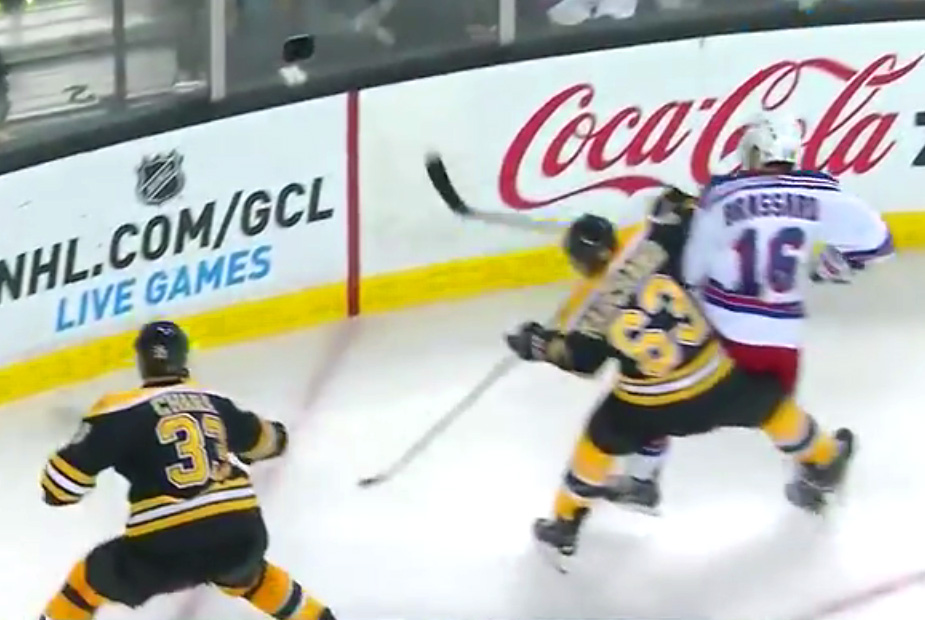 Bruins' Marchand Suspended 2 Games For Slewfoot
