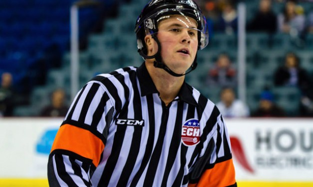 Referee Nic LeDuc Returns to Ice After Horrifying Injury