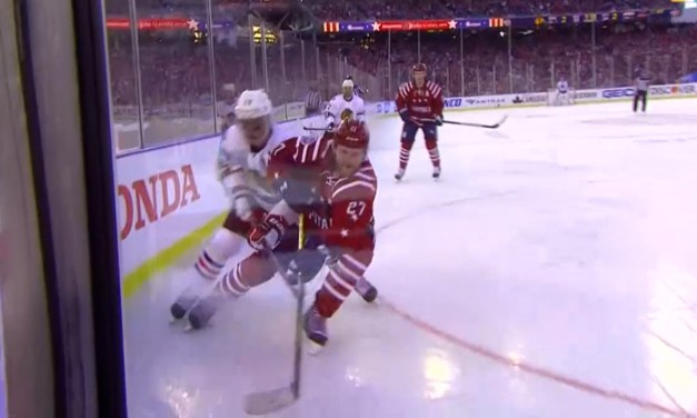 Winter Classic Ends on Late Power Play Goal