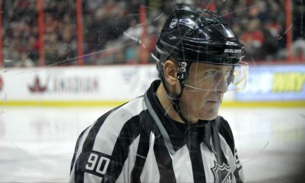 Linesman Andy McElman Hits 1,400 Games