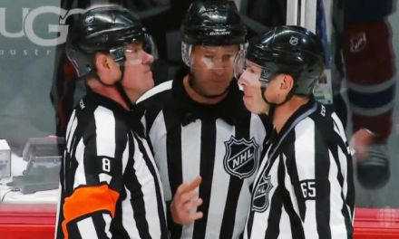 Tonight's NHL Playoff Referees & Linesmen – 4/22/15