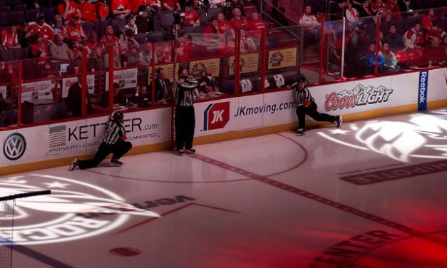 Tonight's NHL Playoff Referees & Linesmen – 5/8/15