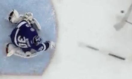 Lightning's Bishop Throws Stick, Avoids Penalty Shot