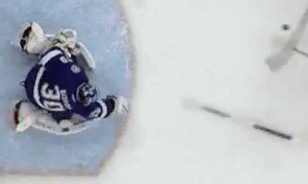 Lightning's Bishop Throws Stick, Avoids Penalty Shot